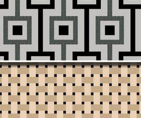 Fabric pattern vectors graphic