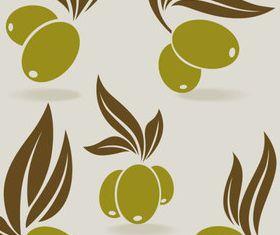 Vivid Olives 6 vector