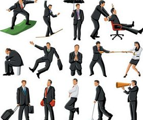 Different Business people vector design