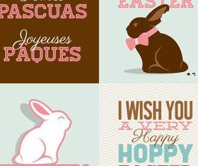 Happy Easter 2 vector