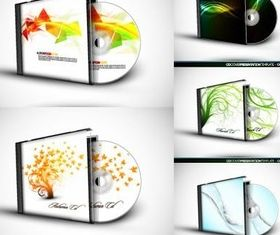CD and CD box vector