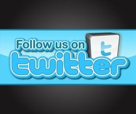 Follow Us On Twitter vector