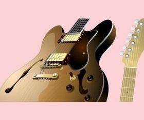 Guitar Parts vectors material