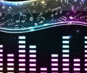 Music Style Backgrounds art vector