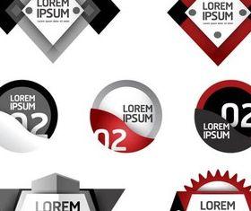 Infographic Symbols vectors graphic