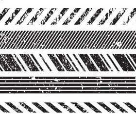 Grunge Style Borders art design vector
