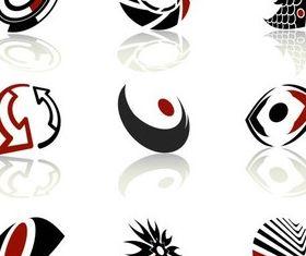 Dark Logotypes design vectors