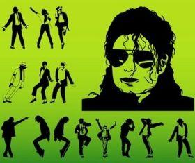 Michael Jackson Vectors Illustration