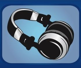 Wireless Headphones vectors graphics