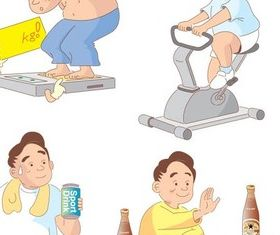 Excess weight vector