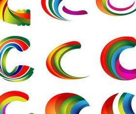 Creative Color Logotypes art vector