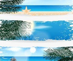 Summer Banners vectors