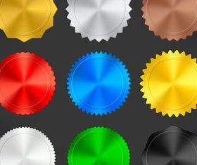 Shiny Web Buttons art vector