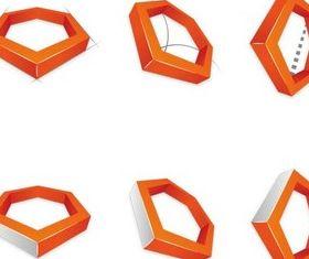 Geometrical Logotypes creative vector