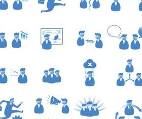 Business Various Icons art vectors material