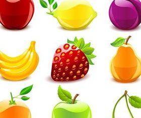 Ripe Fruits free vector