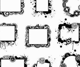 Grunge Elements vector material