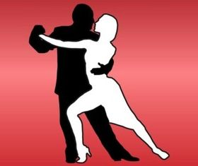 Tango Couple vector graphics