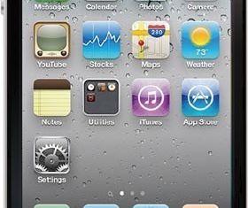 IPhone 4 vector
