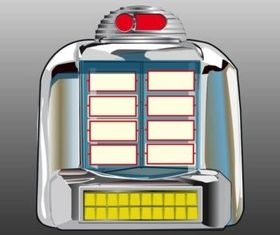 Jukebox Vector design