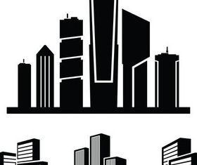 Different Building Logo design vectors