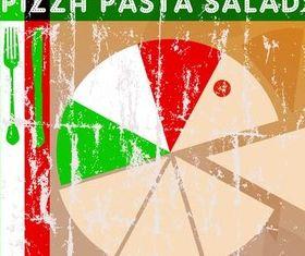 Italian Food Backgrounds art vector