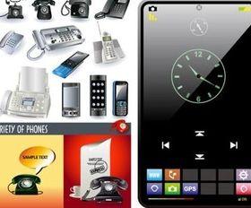Phone mobile phone vector