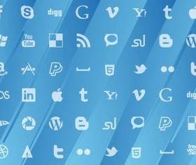 Social MediPattern vector
