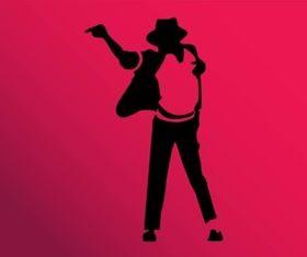 King Pop vector