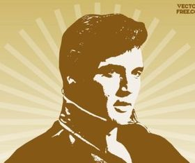 Elvis Presley vector graphics