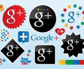 Google Plus Vector Logos