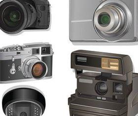 Different Cameras free vectors
