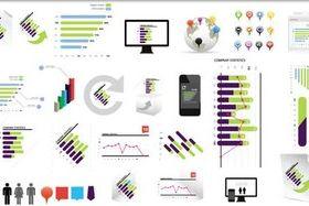 Different Business Elements design vectors