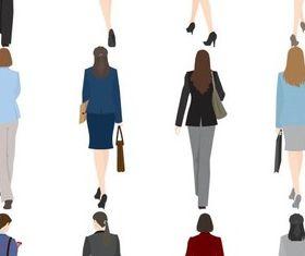 Businesswoman free vector