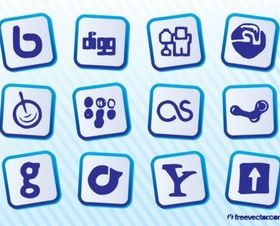 Social MediSites Illustration vector