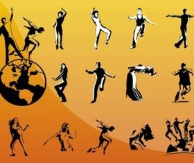 Dancing People vectors
