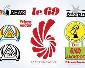 Creative Logos design 5 vector