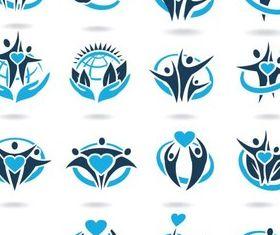 Creative People Logo design vector