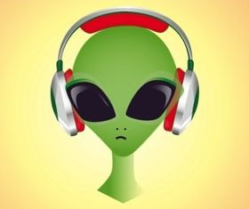 DJ Alien vectors