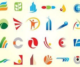 Simple Logo Shapes Vectors