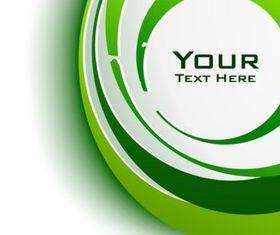Green Circle Graphics vector design