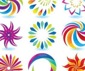 Colorful Circle Logotypes vector graphics