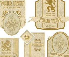 Royal Labels vectors material