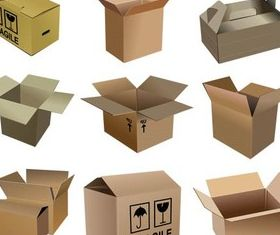 Packaging Boxes Vector graphic