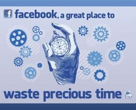 Facebook Time vector