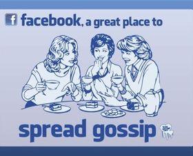 Facebook Gossip vector