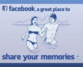 Facebook Share shiny vector