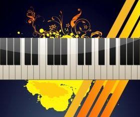Keyboard vector set