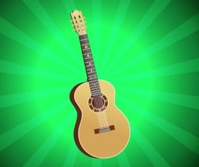 Acoustic Guitar Vector vector graphic