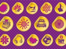 Design Badges design vectors